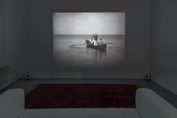<b>MAKING THE IMMORTAL</B> <BR> Gallery Konstepedemin, Gothenburg, 2013<br><br><br>  <p>Year: 2013/14<br> Duration: 9 min<br> Camera: Bror Kronstrand <br> Artists: Anna Viola Hallberg and Bjorn Perborg<br> Based on footage from the private archive of the Bror Kronstrand <br> From the collection at Vadsbo Museum, Mariestad, Sweden<br> Scanning 16 and 35 mm: SVT<br> Theatrical mix: Gustaf Berger, Auditory</p>   <p>Making the Immortal is a poetical/political non-fiction film and installation by Anna Viola Hallberg and Bjorn Perborg exploring man's quest to be remembered. This is made via the life and work of a portrait painter who passed away half a decade ago, Bror Kronstrand. Once an acclaimed artist who traveled the world extensively, today he is almost completely forgotten.</p>   <p>Making the Immortal is a subjective work where two artists reflect upon the traces of a third. The project is predominantly built upon archive material that has been reformatted to the selected narrative(s). Private photographs, newspaper clippings, objects, 16 and 35 mm film are taken further through video, photography, slideshows, facsimiles, and enlarged segments of letters.